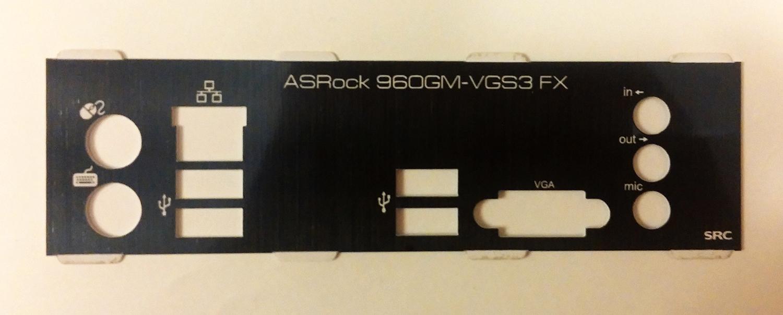 960GM-VGS3 FX