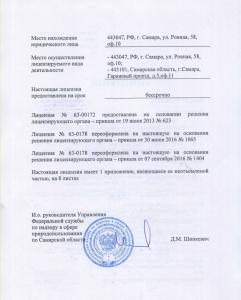 Лицензия стр.1